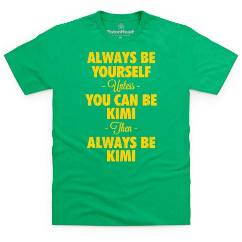 Always Be Kimi T-Shirt, Herren Keltisch-Grn