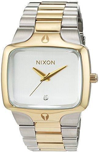 Nixon - A1401431-00 - Montre Homme - Quartz Analogique - Bracelet Acier Inoxydable Blanc