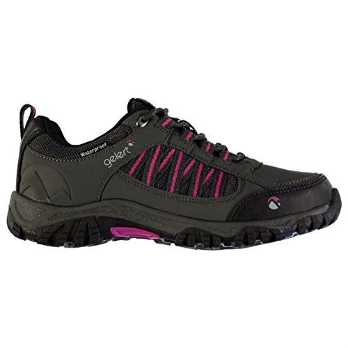 Gelert Womens Horizon Low Waterproof Walking Shoes Outdoor Trekking Hiking Charcoal UK 4.5 (37.5)