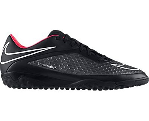 HYPERVENOM PHELON TF BLK - Chaussures Football Homme Nike - DARK BASE GREY/RED VIOLET/BLAC