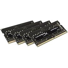 HyperX Impact - Memoria RAM para portátiles de 16 GB (4x4 GB, 2133 MHz, DDR4 CL14 SODIMM, 1.2V, 260-pin)