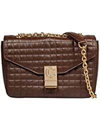 003f6fee2f6b Céline Women s 187253BFC19BR Brown Leather Shoulder Bag