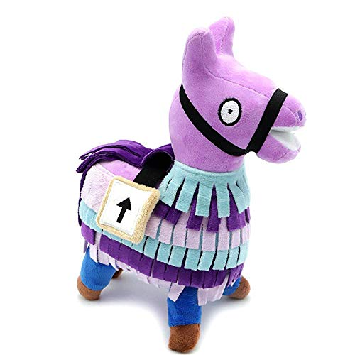 KOBWA Cute Llama Plush Figure, Plush Toy 2018 Hot for Loot Llama Figura Bambola Morbida Peluche Animali Giocattoli