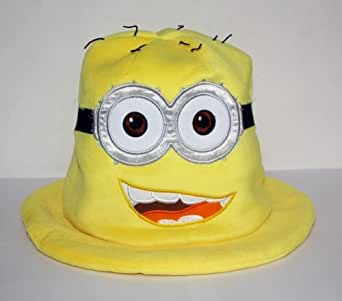 Despicable Me Minion Smiling Jorge Funny Soft Plush Cosplay Hat