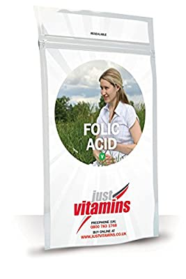 Just Vitamins Folic Acid 400mcg Tablets from Just Vitamins Ltd