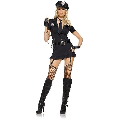 Leg Avenue Traje Atractivo, Disfraz de Policía Sexy - 1 unidad