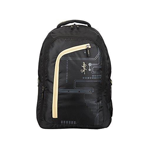 Skybags 29 Ltrs Black Laptop Backpack (LPBPROU3BLK)