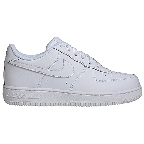Nike FORCE 1 (PS), Chaussures mixte enfant Blanc