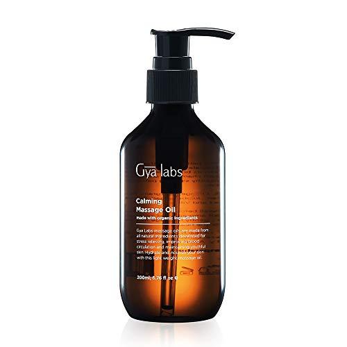 Beruhigendes Massageöl (200 ml) Natürliche Aromatherapie zur Entspannung der Hautmuskulatur und Stärkung der Körpertiefe