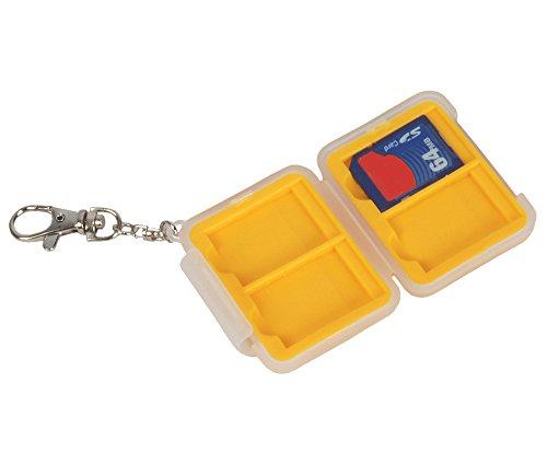 Bilora 165Speicherkartenhalter, Farbe: Weiß, Gelb, aus Kunststoff