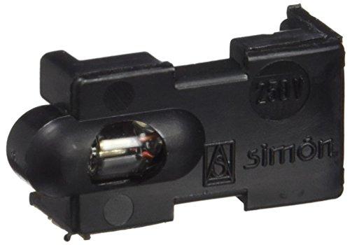 Simon - 31802-31 soporte neon interruptor-pulsador s-31 marfil Ref. 6553131065