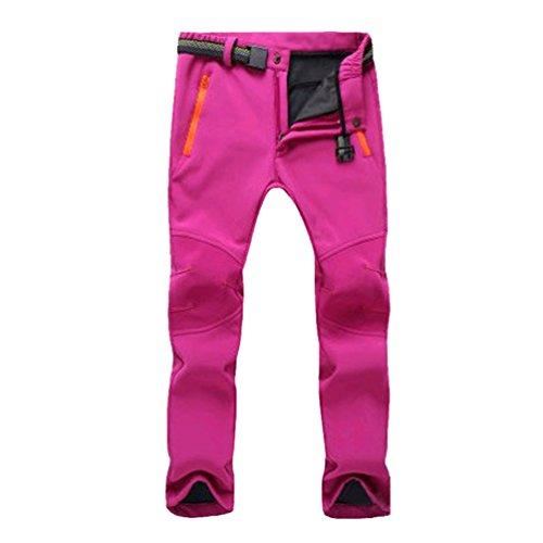YiLianDa Wo Senderismo Pantalones prueba viento elástico