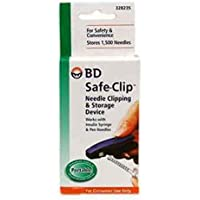 Bd - Clip de seguridad para dispositivo de sujeción de agujas