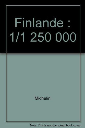 Finlande : 1/1 250 000
