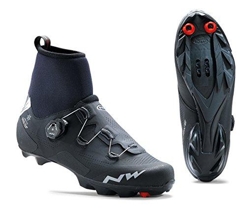 Northwave Raptor Arctic GTX Winter MTB Fahrrad Schuhe schwarz 2020: Größe: 45