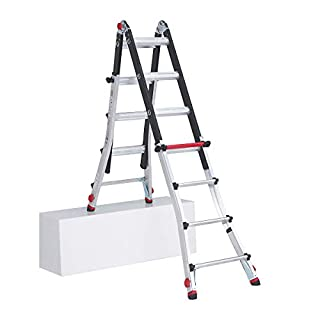 Altrex Varitex Tele Prof Flex Step Ladder 4x 4, Aluminium