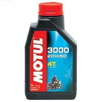 MOTUL 3000 4T 20W50. (Olio Motore 4T) / 3000 4T 20W50 (Engine Oil 4T)