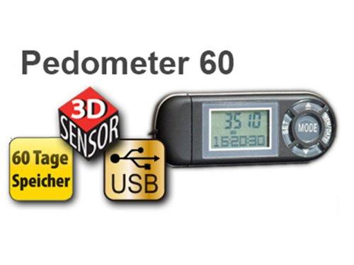 Schrittzähler Pedometer60