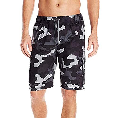 030d5282cf6d16 Herren Camouflage-Shorts, Herren, modisch, gestreift, für Strand, Workout