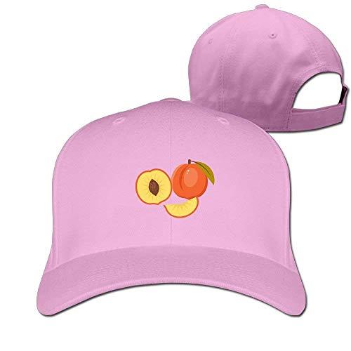 Peach Fruit Repeat Solid Travel Cap Baseball Cap Sport Hats for Men and Womens Army Cap
