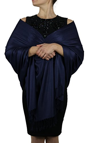 york-shawls-pashmina-donna-navy-taglia-unica