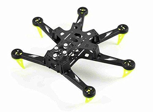 Spedix S250AH Drohnen-Rahmen-Kit, Größe: 300 mm, für Agility-Racing-Hexacopter, Kohlefaser-Rahmen.