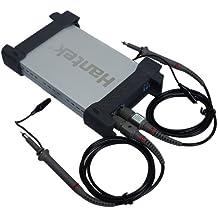 Hantek® 6022BE - Osciloscopio digital USB (2 canales, 20 MHz)