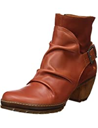 Art Leder Stiefelette Ankle Boot Oslo Petalo Braun 0516