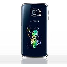 Arte de Fan Funda/Cubierta del Teléfono para Samsung Galaxy S6 (G920) con Protector de Pantalla / Silicona Suave de Gel/TPU / iCHOOSE / Olaf