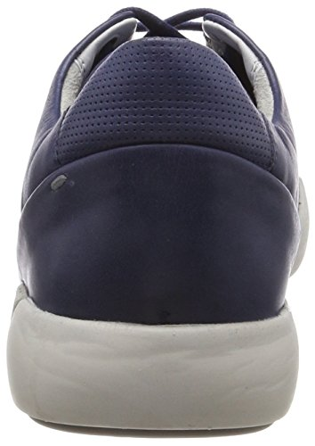 Sioux Herren Low-Top Sneaker Runol, Blau (Jeans)