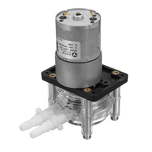 DyNamic 24V 400Ml/Min Bomba Peristáltica Tubo Dosificación Vacío Acuario Laboratorio Analítico Agua