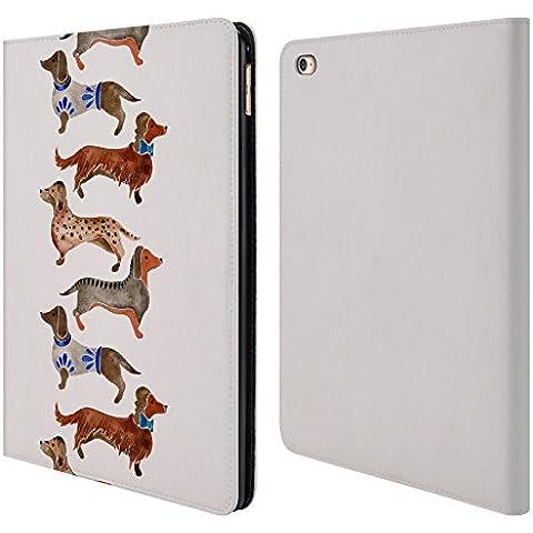 Ufficiale Cat Coquillette Bassotti Animali Cover a portafoglio in pelle per Apple iPad Air 2