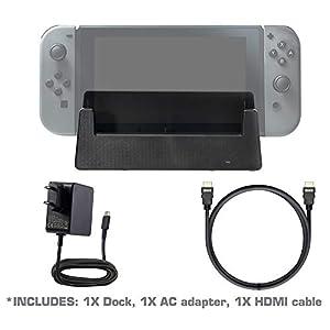 iMW flaches TV Dock für Nintendo Switch