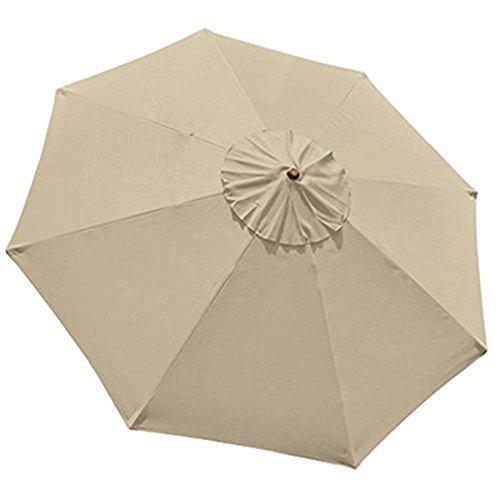 Apontus 9ft Regenschirm, Ersatz, Tan (9 Sonnenschirm Ft)