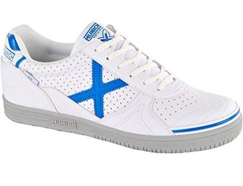 Munich G3 Profit X Bianco 3110804 - Scarpe da Calcetto Indoor