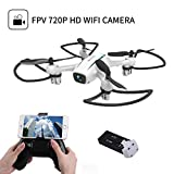 Drone with Camera,Cellstar Wifi FPV Drone 720P HD Camera RC Quadcopter Nano Drone