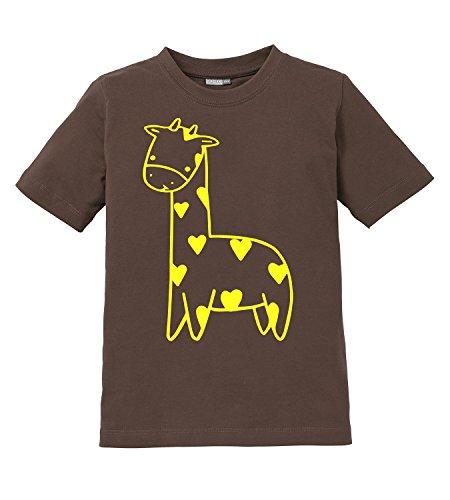Süßes Giraffen Motiv - Kinder T-Shirt
