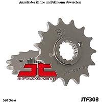 1//2x5//16 Kettenrad 53 Z/ähne Stahl 428er Teilung f/ür Yamaha WR 125 R DE071 2009-2014