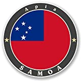2x Relaxliege Relaxsessel APIA Samoa Vinyl Aufkleber Aufkleber Laptop Reise Gepäck Auto Ipad Schild Fun # 5093 - 15cm/150mm Wide