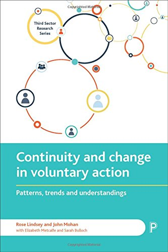 Continuity and change in voluntary action: Patterns, trends and understandings (Third Sector Research Series) (Serie Sector)