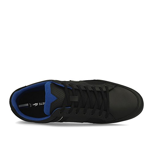 Lacoste Chaymon 218 1 Cam, Baskets Homme Noir (Blk/Dk Blu 1z2)