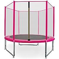 Preisvergleich für Gartentrampolin Aga Sport Pro, Trampolin Set mit Sicherheitsnetz, Federabdeckung und Sprungmatte! Gepolsterten Netzpfosten und Randabdeckung! 6ft-180cm