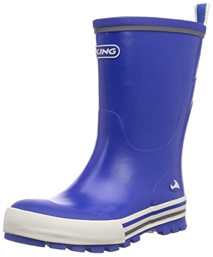 Viking  Jolly, Botte mixte enfant Bleu - Blau (Royal 15)