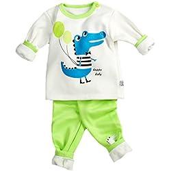 Babyicon - Pijama - para niña Dinosaurios