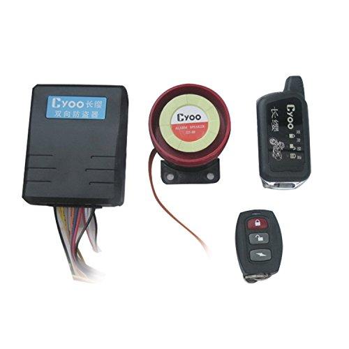 Lanxi Sistema de antirrobo, alarma kit de seguridad, para Moto, 125dB dos tonos, Mando a Distancia