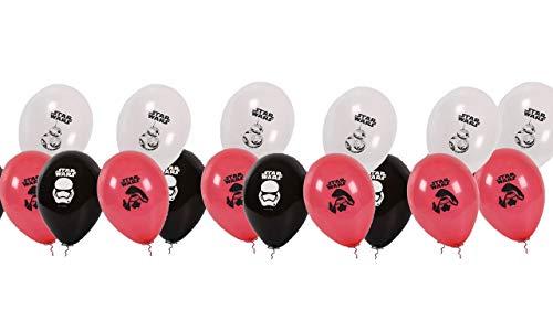 Packung 16 Ballons Disney Star Wars; für Partys und Geburtstage. Ideal, um Ihre Partys zu schmücken. ()
