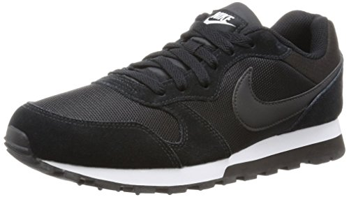 Nike - Md Runner 2, Scarpe da Donna, Nero (Black/Black-White), 37.5 EU