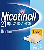 Nicotinell Nicotine Patch Stop Smoking Aid Step 1, 21 mg 24 Hour 7 Patches