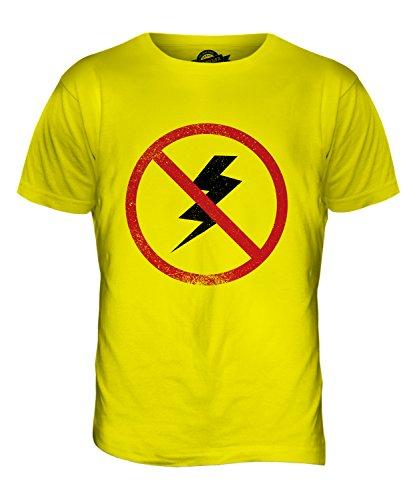 CandyMix Astraphobie Herren T Shirt Zitronengelb