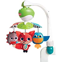 Tiny Love Take-Along Mobile, Baby Mobile and Stroller Activity Toy with Music, Suitable from Birth, 0 Month +, Meadow Days